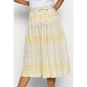 Madewell Tie-Front Paperbag Midi Skirt Sz Small